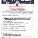 Offre de mission Service Civique ! La Mairie recrute 2 volontaires en service civique