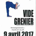 Vide Grenier – dimanche 9 avril 2017 – Boulodrome Alleins
