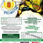 Tournoi Open du Tennis Club Alleins du 29 avril au 10 juin 2017