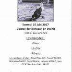 Fête du Club Taurin le Bastidon d'Alleins – Samedi 10 juin 2017
