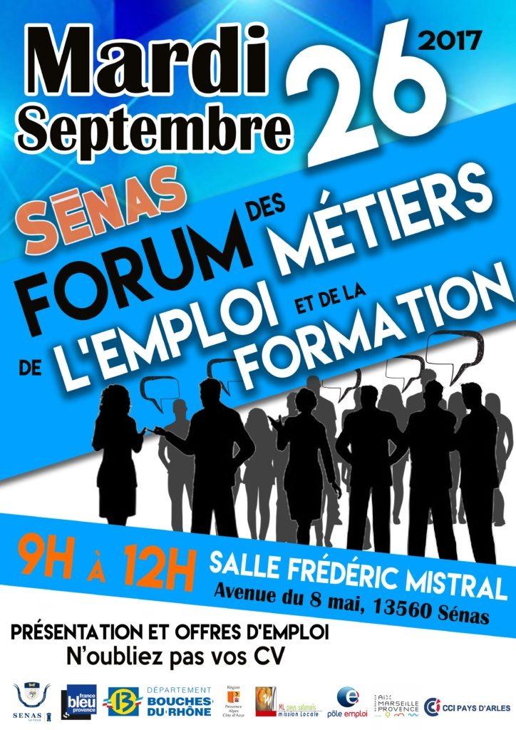 Forum des m tiers de l emploi et de la formation ville d 39 alleins - Offre d emploi chambre des metiers ...
