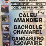 Club Taurin Paul Ricard Alleins – Concours de manades – Samedi 28 avril 2018