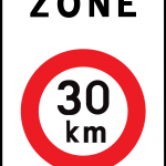 Limitation de vitesse – Zone 30 généralisée dans le village