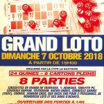 LOTO – Club Taurin Paul Ricard Alleins – dimanche 07 octobre 2018
