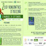 2ème éco-rencontres Alleinsoises organisées par le CADE – dimanche 30 septembre au Couvent