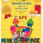 Mini Olympiade Samedi 18 mai Stade d'Alleins