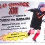 R.C COSTES XIII organise la 1ère édition du Tournois des Sanglier – mercredi 29 mai à partir de 18h