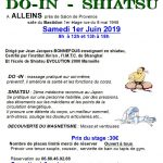 Stage DO-IN – SHIATSU – samedi 01 juin 2019 au Bastidon