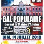 Samedi 13 juillet 2019 – Bal Populaire – devant la Mairie