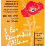 3ème éco-rencontres Alleinsoises organisées par le CADE – dimanche 15 septembre 2019