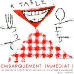 A table Embarquement immédiat ! – mercredi 23 octobre 2019 à 14h30 au Bastidon
