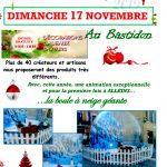 Marché de Noël – dimanche 17 novembre 2019 au Bastidon