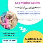 Lieu d'Accueil Enfant Parent – tous les jeudis de 9h30 à 12h30 – Mairie de Mallemort