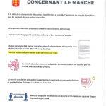 Marché Hebdomadaire – Place de la République – Stationnement Interdit du lundi 18h00 au mardi 13h30