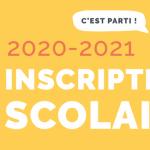 Groupe Scolaire Victor Hugo – Inscriptions pour la rentrée 2020/2021