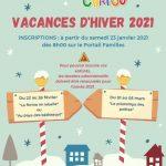 LES TOUT CHATOU HIVER 2021 – Inscriptions