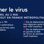 INFORMATION – COVID-19 – du 03/04/2021 au 02/05/2021