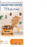 Office de tourisme du Massif des Costes fête ses 20 ans – dimanche 10 octobre 2021