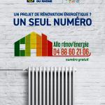 Un numéro unique pour la rénovation énergétique de votre logement