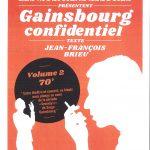 SPECTACLE » GAINSBOURG CONFIDENTIEL» LE 28 MAI A ALLEINS