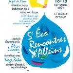 5ème éco-rencontres Alleinsoises organisées par le CADE 18 & 19 septembre 2021